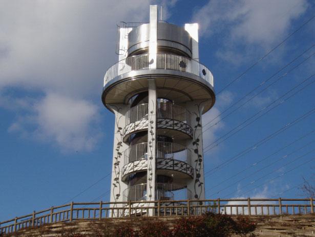 愛知県小牧市 市民四季の森展望台