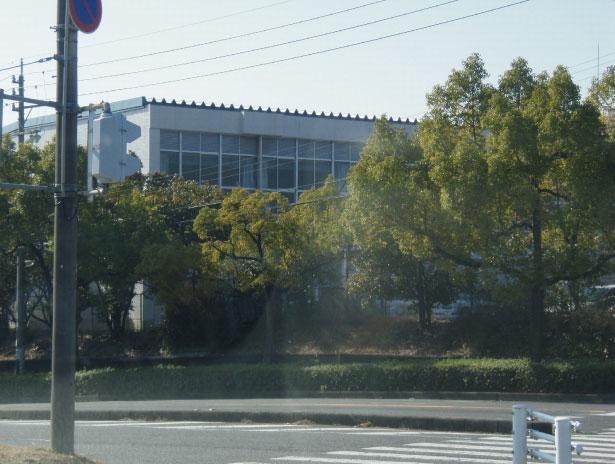 愛知県春日井市 高蔵寺高校体育館
