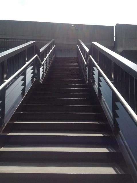 小牧市 小牧駅前歩道橋塗装工事